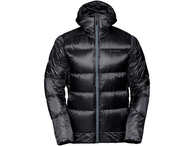 VAUDE Kabru III Hooded Jacket Men, black/black